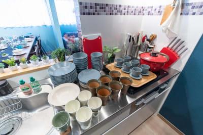 食器類 - スペースNear‗高円寺 &KOENJIの室内の写真