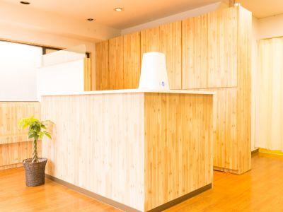 整体院Oasis サロンスペース貸し切り教室の室内の写真