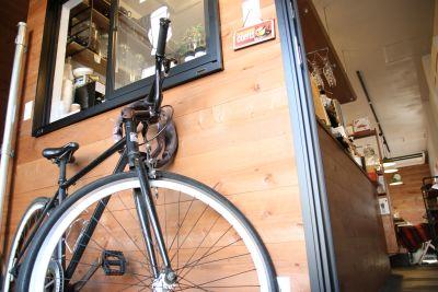 CAFE L'ETOILE DE MER 1階カフェの入口の写真