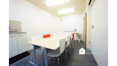 【カリル蒲田会議室】 プロジェクタ無料の貸し会議室♪の室内の写真