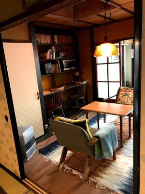 京町家 Tawaraya 土間(キッチン有り)の室内の写真