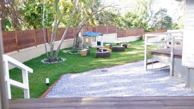 庭 - ヴィラフロムオキナワ コテージタイプ の室内の写真