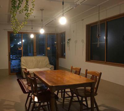 レンタルスペース LUMO キッチン付きレンタルスペースの室内の写真