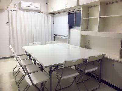 パーフェクトスペース 代官山2分恵比寿5分の白い個室の室内の写真