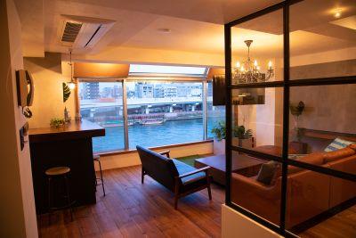 浅草AQUA TERRACE ~キッチン付きレンタルスペース~の室内の写真
