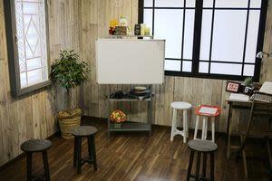 ディスカッション  配置 - hair ROOK るうく 2F 貸スタジオの室内の写真