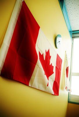 英会話学校ザ・ニュービレッジ Room 1の室内の写真