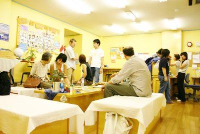 英会話学校ザ・ニュービレッジ スクエア(共同エリア)の室内の写真