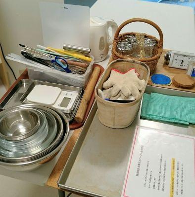 ケーク アバンチュール レンタルキッチンの設備の写真