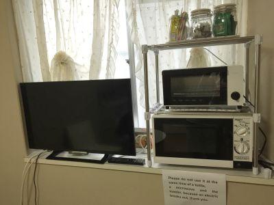 サンハイム南森町 レンタルキッチン ゲストハウス大阪 の設備の写真