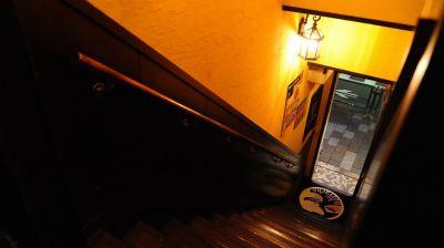 ビアバルボラッチョの入口の写真