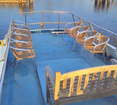 フェニックスクイーン  朝潮桟橋の設備の写真