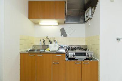 TS00093新宿 キッチン付き(最大10名)の設備の写真