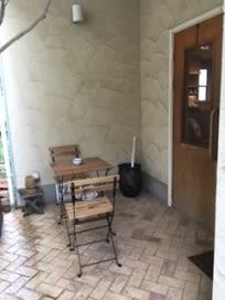 coffee&ギャラリー杏樹 ギャラリースペースの入口の写真