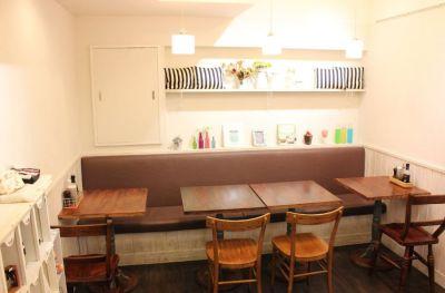 池袋レンタルカフェ「Ginger&Star」 レンタル対応カフェの室内の写真