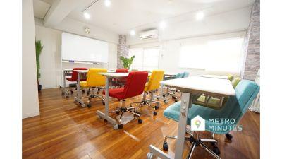 【ブライトン会議室】 プロジェクタ無料の貸し会議室♪の室内の写真