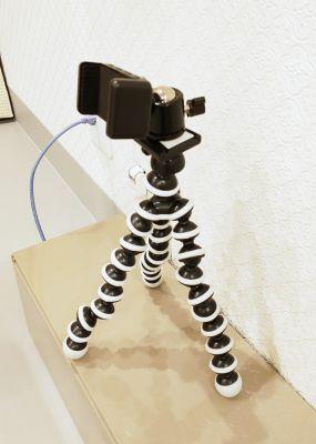 スマホ固定器 - レンタルミニスペース フクリズム 1階 多目的スタジオの設備の写真