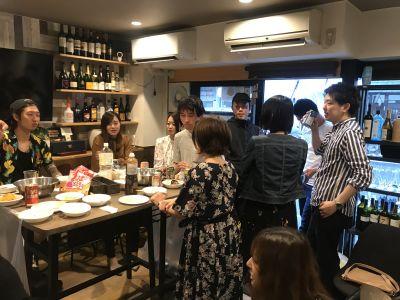 ワインバル グラングラン 貸切バルの入口の写真