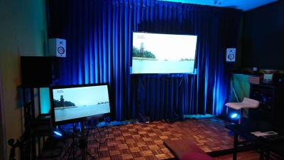 LiveDAM設置! カラオケ三昧も! - シェアスペースココロンド 仲間とワイワイ!レンタルスペースの室内の写真