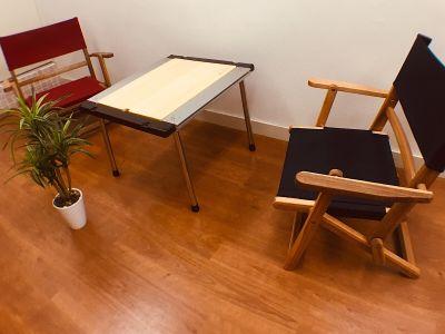 カフェ風に♪ - 【キャンプルーム神戸三宮】 パーティ/会議/ボードゲームの室内の写真