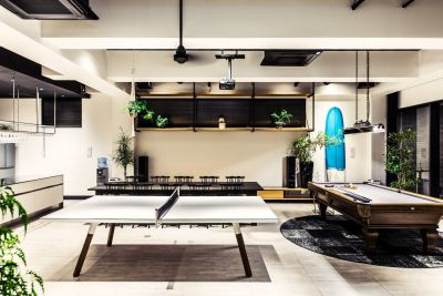 Co-work&Share.H PENT HOUSEの室内の写真