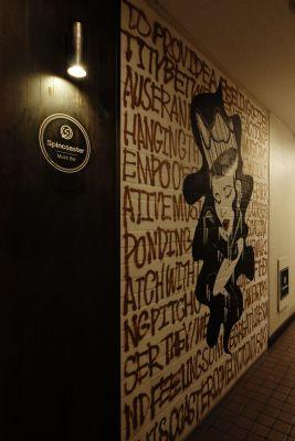 spincoaster bar 貸切スペースの入口の写真