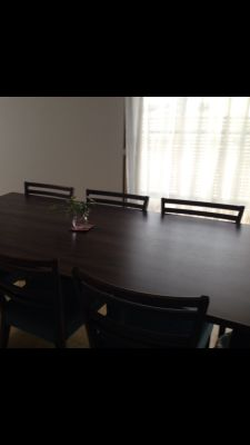 大型テーブル - さいたま市Shikate レンタルリビングの室内の写真