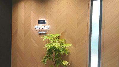 DMZ CAFE イベント貸切利用の入口の写真