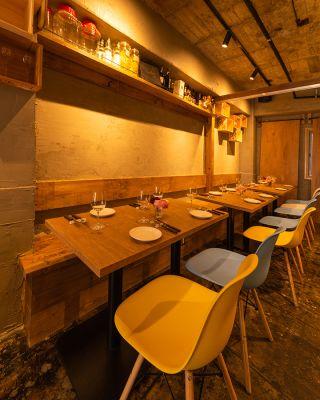 Obusse オブッセ レストランの室内の写真