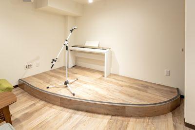 coco de tea 多目的スペース(地下1階)防音の設備の写真