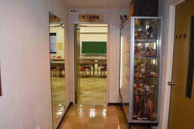 マリヤ手芸店 手工芸室・クラフトスペースの入口の写真