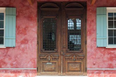 スタジオデザミ レンタル撮影スタジオの入口の写真