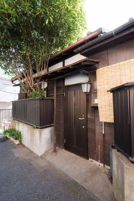 茗荷庵 和室会議室の入口の写真