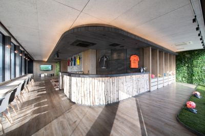 MIFAFP仙台 【全面】フットサルコートの室内の写真