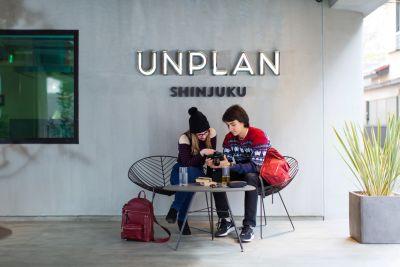 UNPLAN Shinjuku Encounter の入口の写真