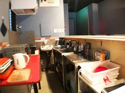 キッチン1 - カラメル五反田東口店 パーティ会場・レンタルキッチンの室内の写真