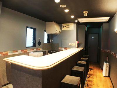 カウンター席 - カラメル五反田東口店 パーティ会場・レンタルキッチンの室内の写真