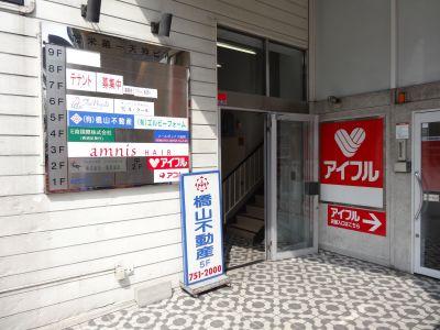 天神貸教室 天神貸会議室の入口の写真