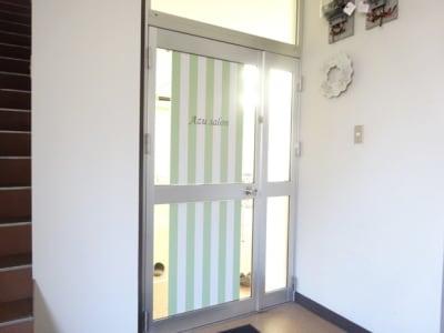 名古屋会議室 Azu salon千種駅前店 貸教室(3階)の入口の写真