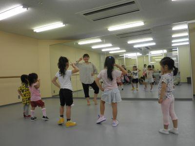 スタジオエール 貸ダンススタジオの室内の写真