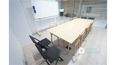 【AD-O渋谷道玄坂ビル】 レンタルミーティングスペースの室内の写真