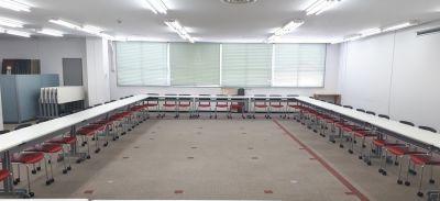 ロの字 - 大阪長堀 貸会議室 8階 E会議室の室内の写真
