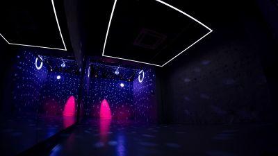 ナイトクラブのような雰囲気でもご利用いただけます。 - StreetDancePark 【半貸切】収録・配信・イベント等の室内の写真