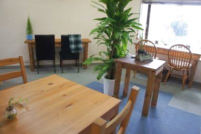カフェスペースです。景観が良好です。 - FUFUレンタルスペース