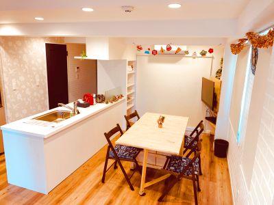 キッチン設備が充実。ママ会、女子会、コワーキングスペースにいかがでしょうか - スペースルアナ