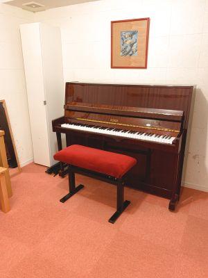 西麻布 防音スタジオA(ベヒシュタイングランドピアノ常設) - セルヴェ西麻布 ピアノスタジオ