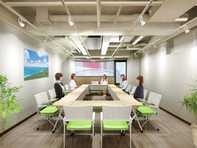 【仙川駅徒歩1分】Wi-Fi・プロジェクター・最新ホワイトボード完備!設備充実のキレイな施設 - ルキナ仙川アネックス
