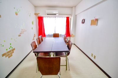 【清潔!3分!桜がみえます♪】SAKURA会議室 Wifi&モニター無料!アットホームで居心地バツグン!OPENキャンペーン中です♪ - SAKURA会議室