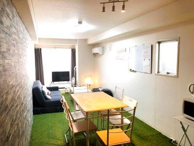 芝生のキッチン付スペース703