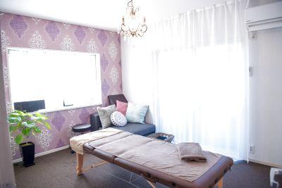 施術ベッド&施術個室3部屋の一軒家サロン(2階部分) - 骨盤ケアサロンDear mom